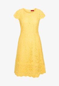 HUGO - KIRALIS - Juhlamekko - light pastel yellow - 6