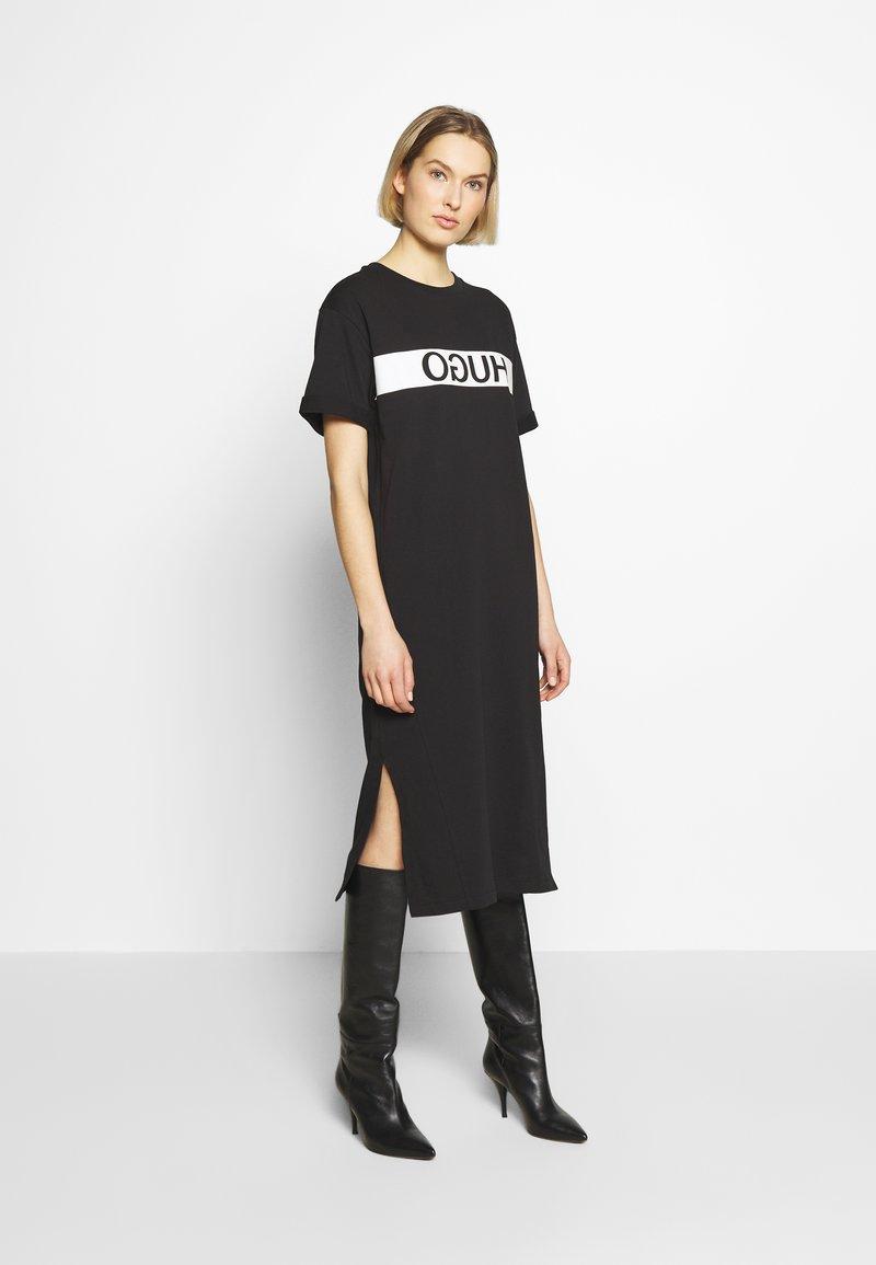 HUGO - NEYLETA - Vestido ligero - black