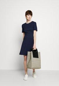 HUGO - NAREI - Jersey dress - open blue - 1