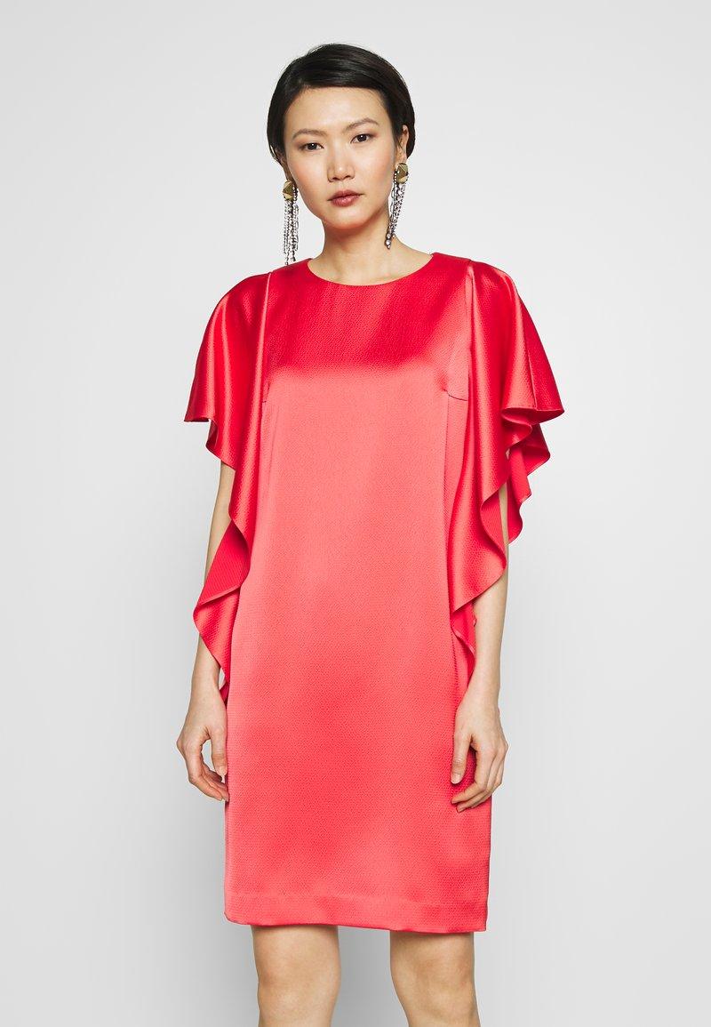 HUGO KOSALI - Cocktailkleid/festliches Kleid - bright red ...