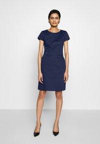 HUGO - KELISI - Shift dress - open blue - 0
