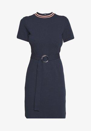 NIELE - Shift dress - open blue