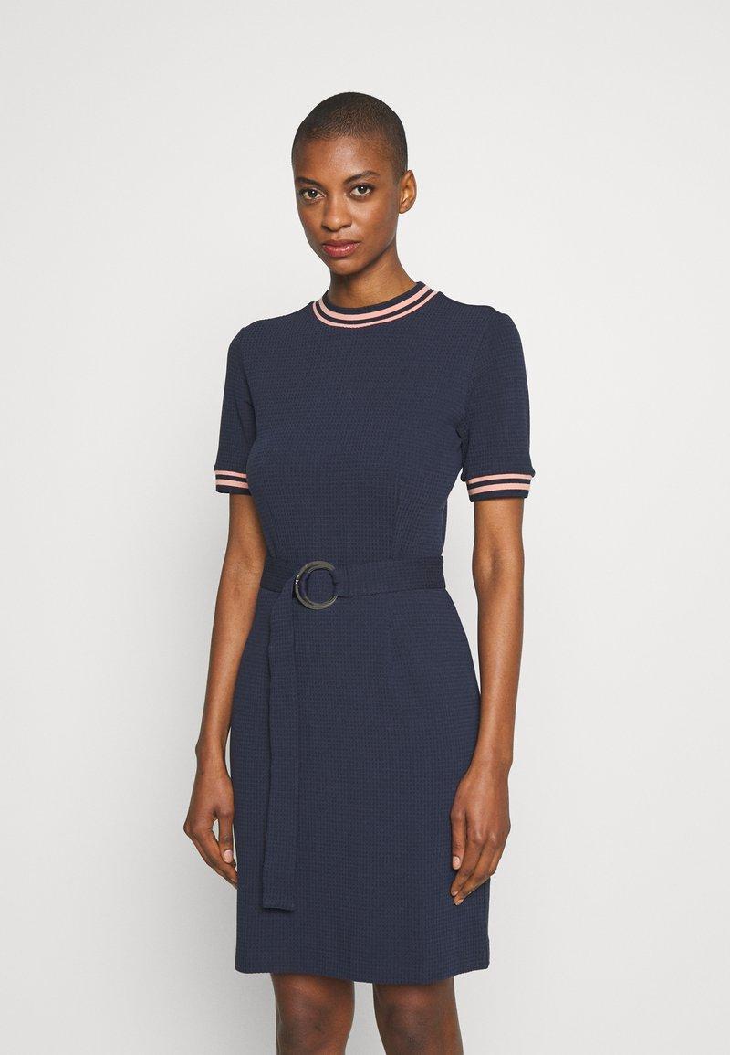 HUGO - NIELE - Shift dress - open blue