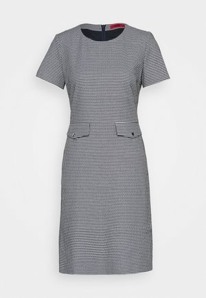 KORINI - Shift dress - open blue