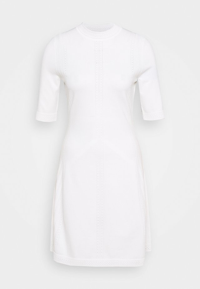 SHATHA - Gebreide jurk - natural