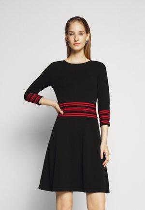 SANDREYYA - Jumper dress - black