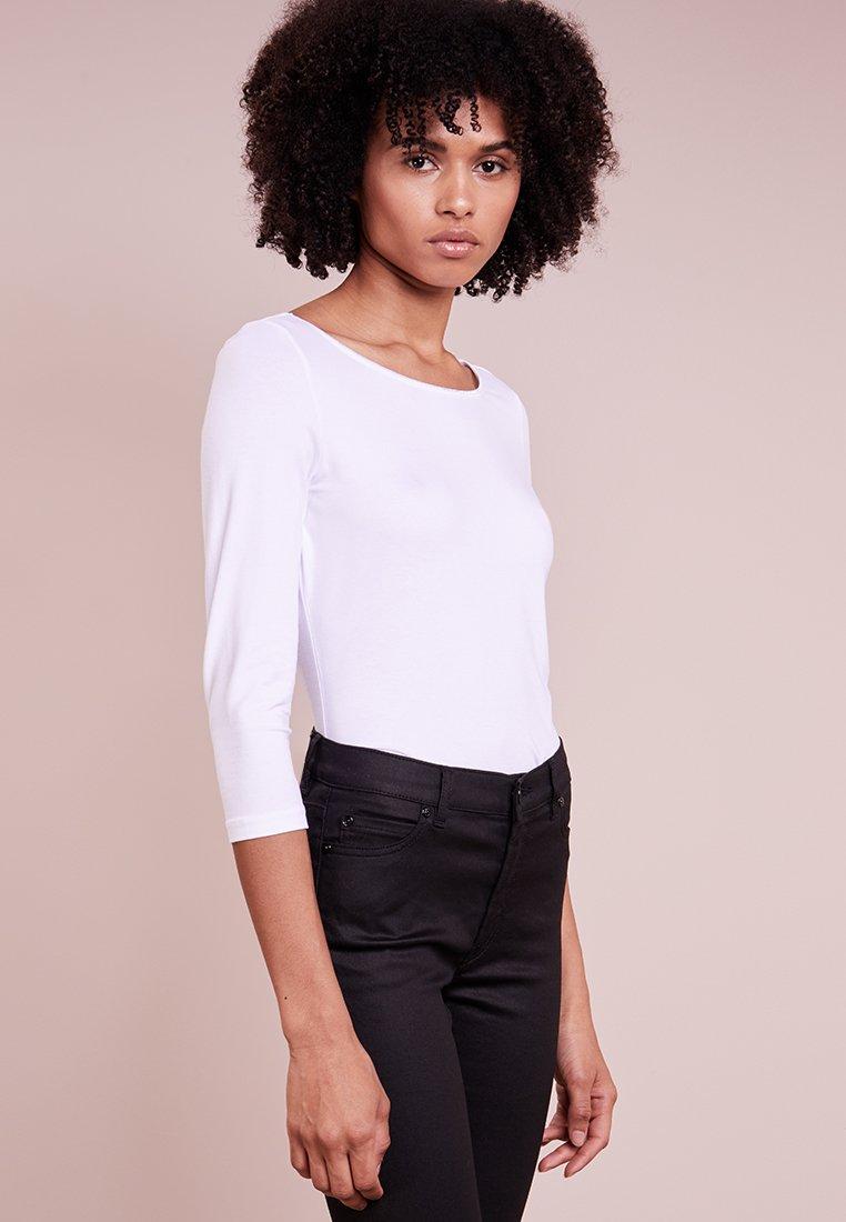 HUGO - DANNELA - Langærmede T-shirts - white