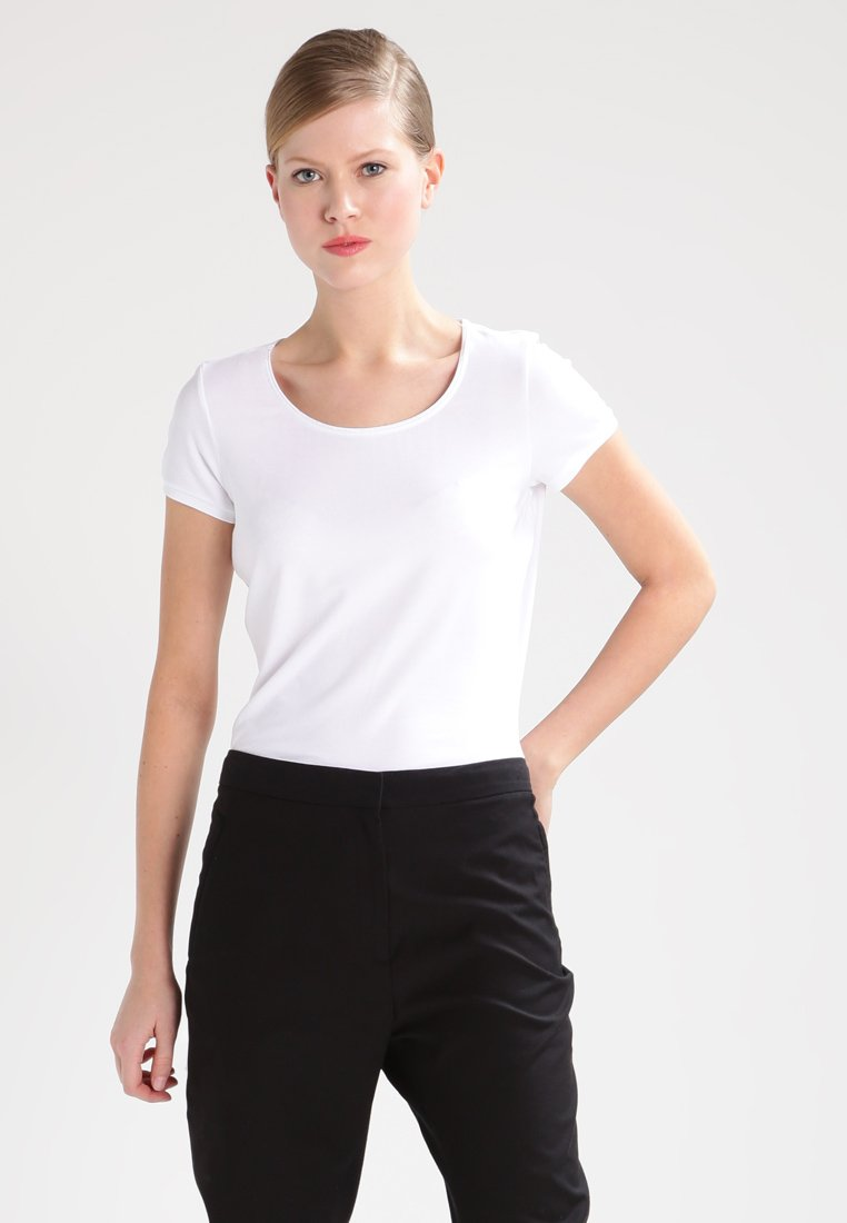 HUGO - DABENA - Basic T-shirt - white
