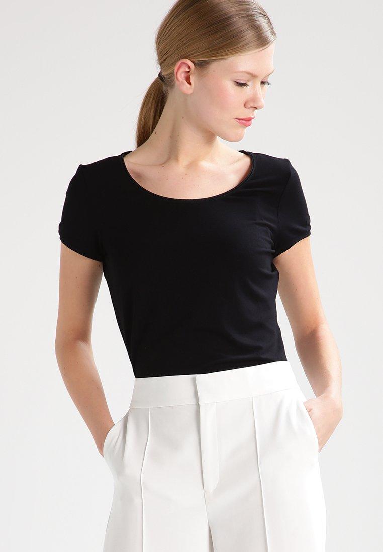HUGO - DABENA - T-Shirt basic - black