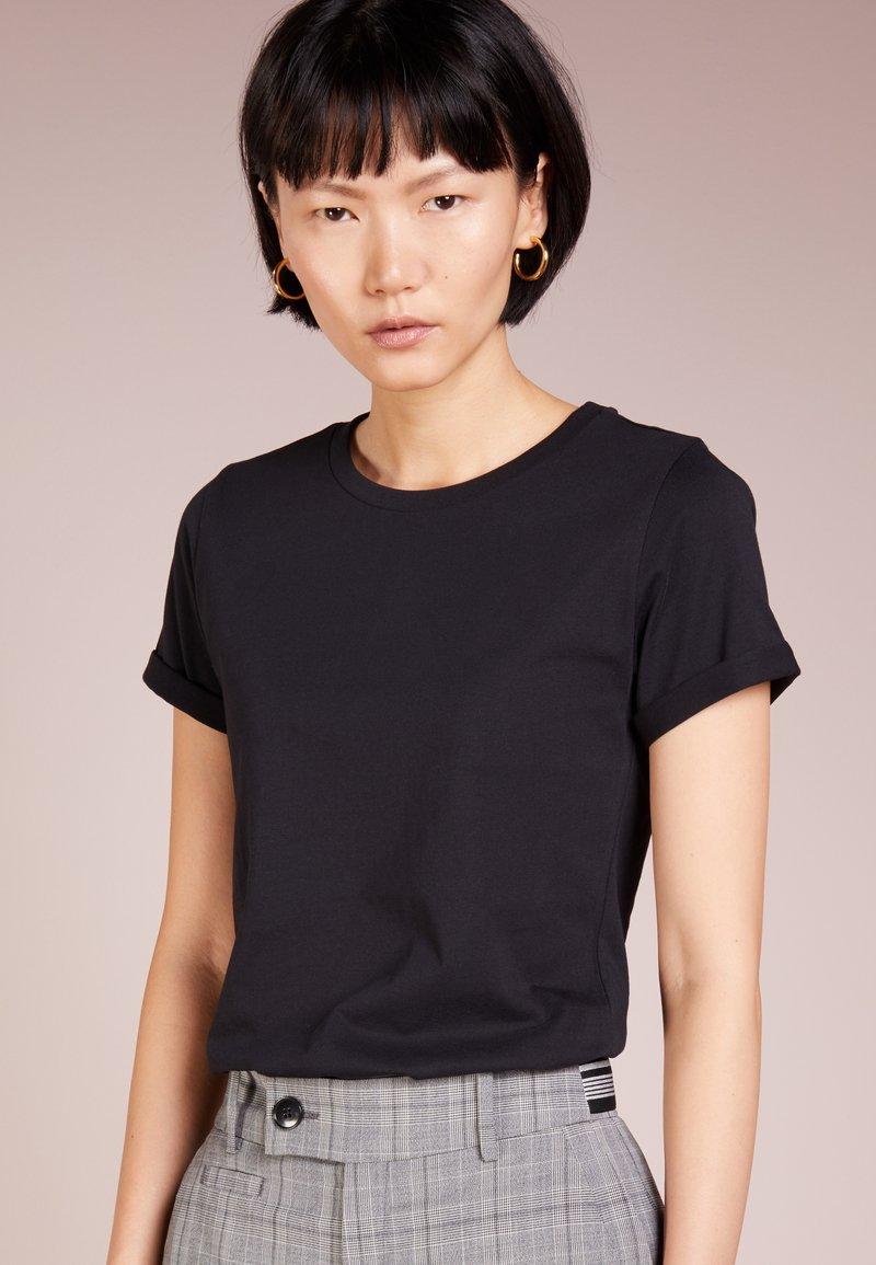 HUGO - DENNA - T-shirt basic - black