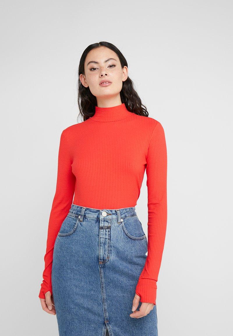 HUGO - NINELLI - Long sleeved top - medium red