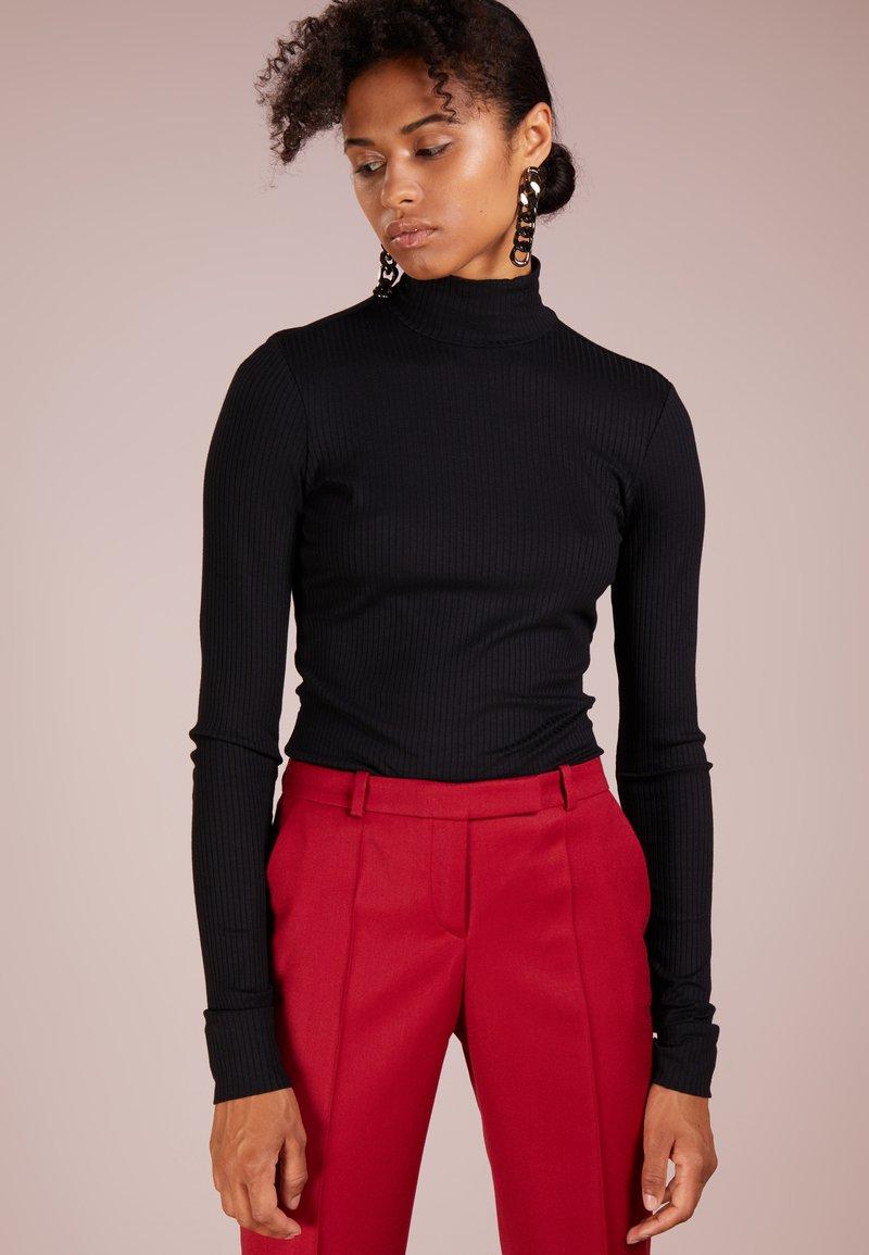 HUGO - NINELLI - Bluzka z długim rękawem - black