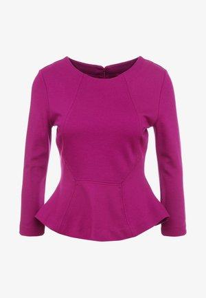 NEALA - Topper langermet - bright purple