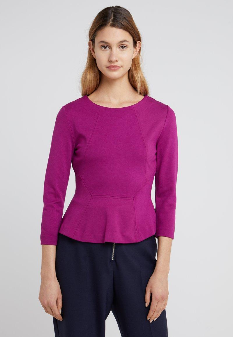 HUGO - NEALA - Long sleeved top - bright purple