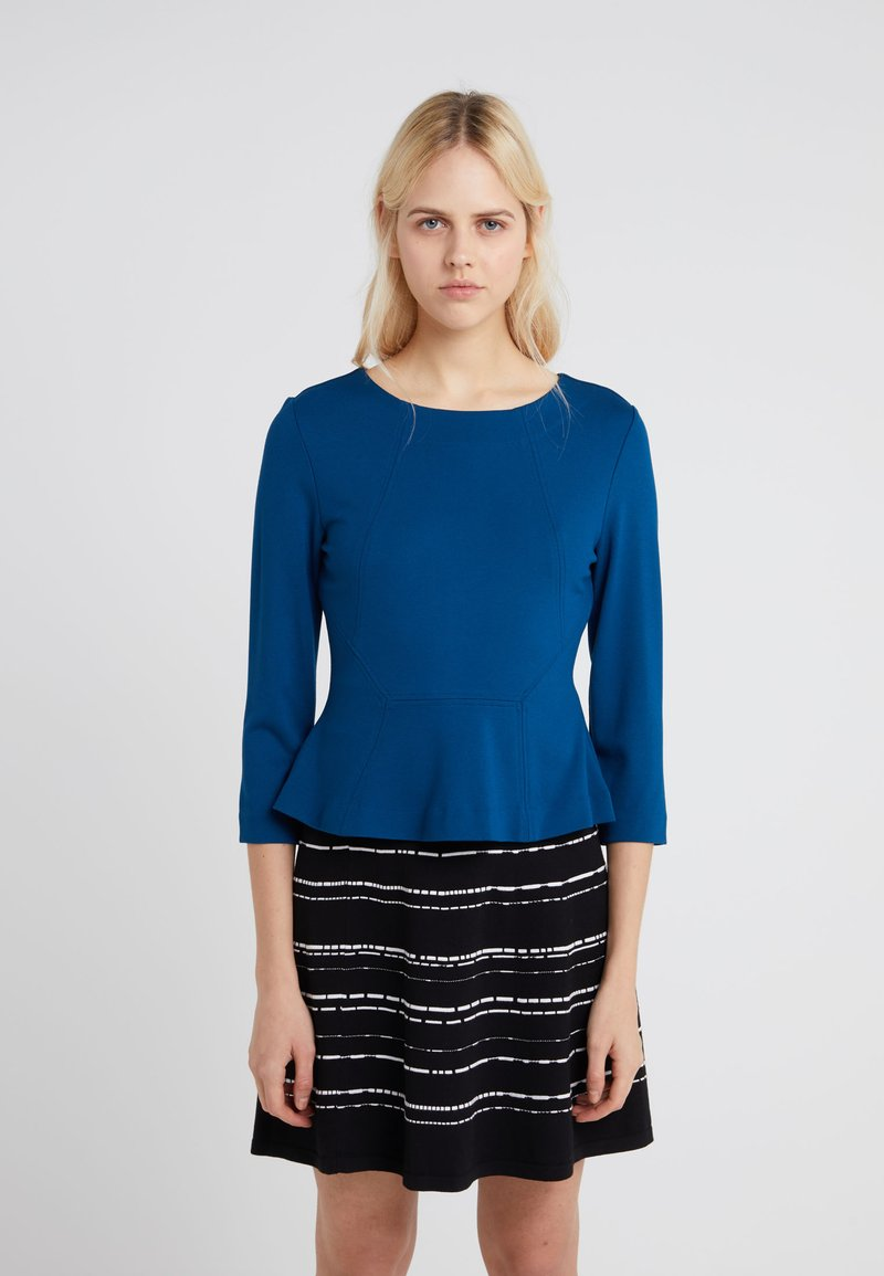 HUGO - NEALA - Langarmshirt - open blue