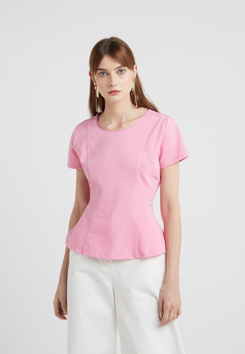 HUGO - DELANNI - Basic T-shirt - bright pink