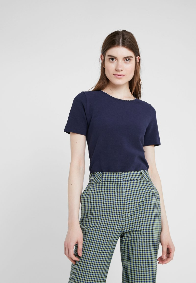 HUGO - DOANA - T-shirt print - open blue