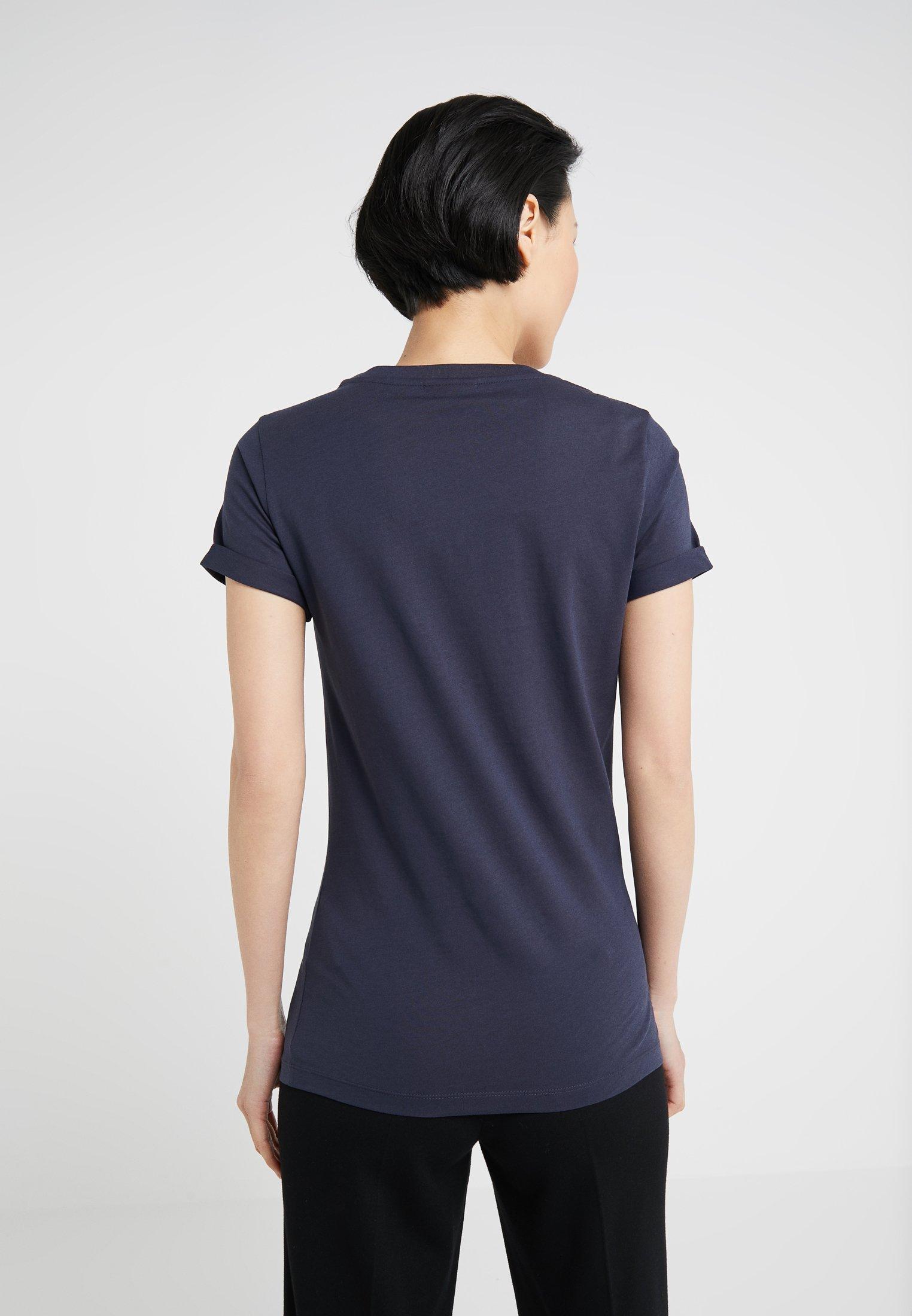 Open Hugo DennaT Imprimé shirt Blue Ygyf6vb7
