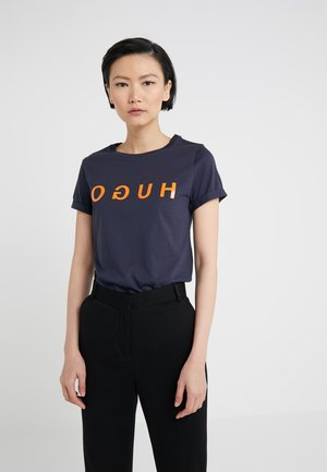 DENNA - T-shirt imprimé - open blue