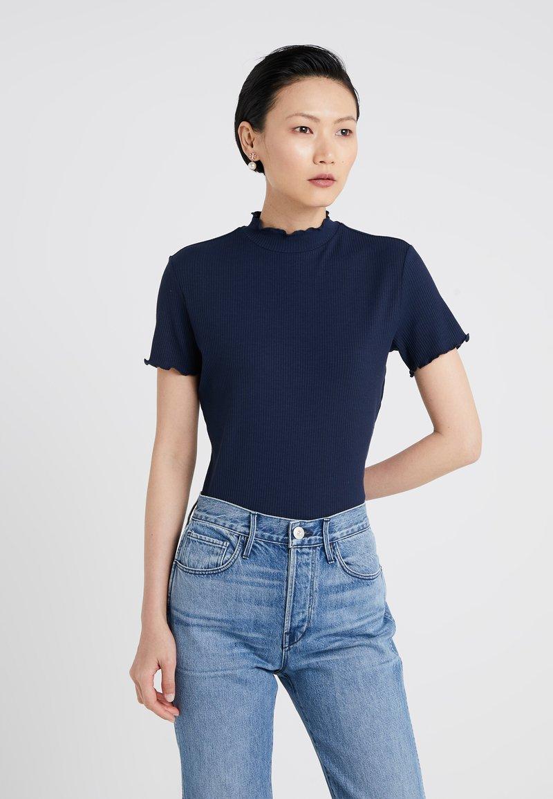 HUGO - DINANA - T-Shirt print - open blue