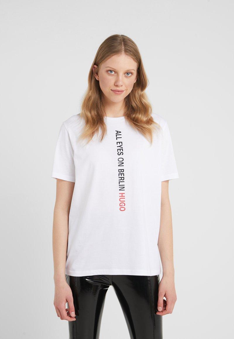 HUGO - DIREOLA - T-shirts print - white