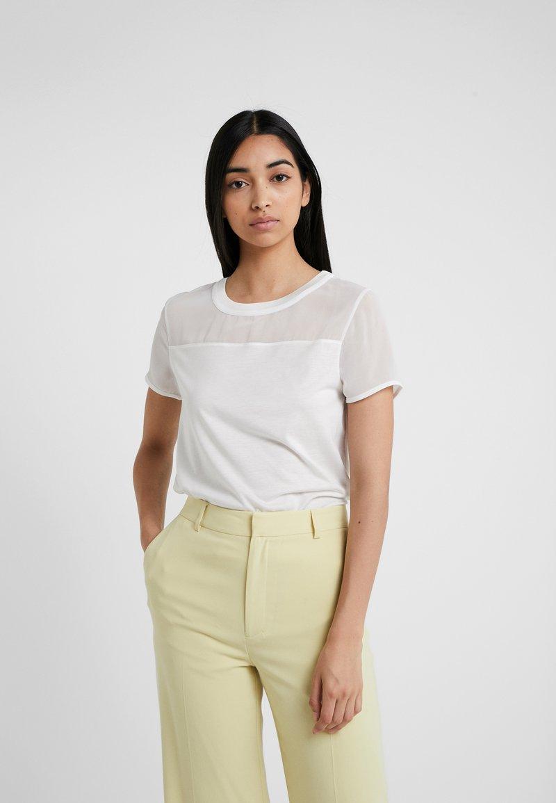 HUGO - DIKERI - T-shirt con stampa - natural