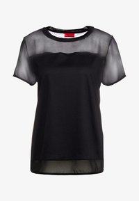 HUGO - DIKERI - T-shirt print - black - 4