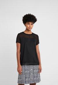 HUGO - DIKERI - T-shirt print - black - 0