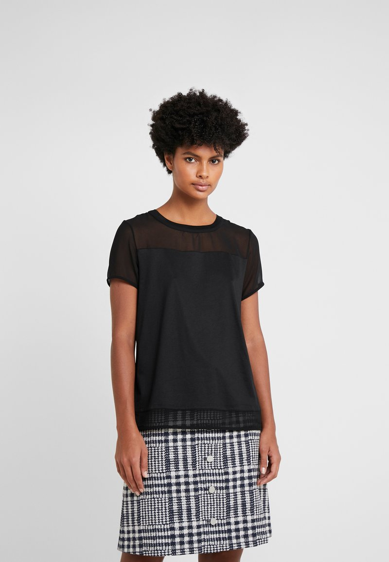HUGO - DIKERI - T-shirt print - black