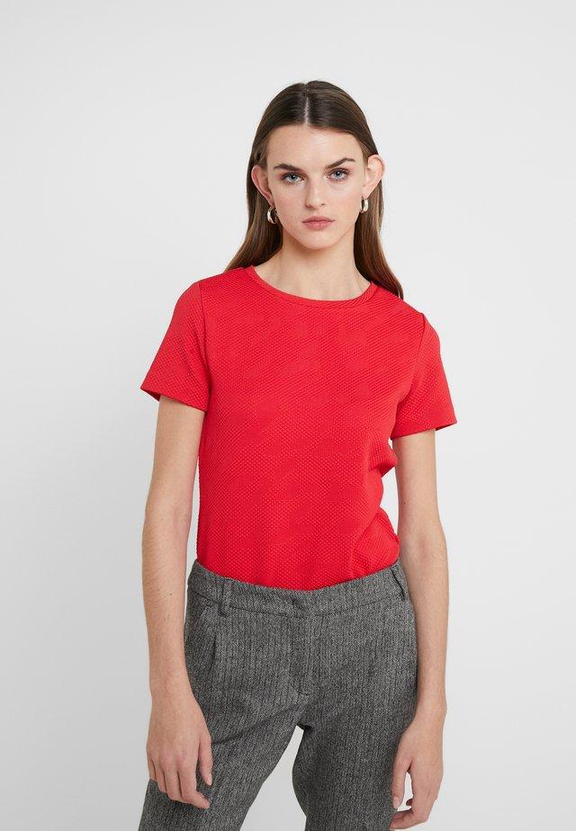 DINORE - Printtipaita - bright red