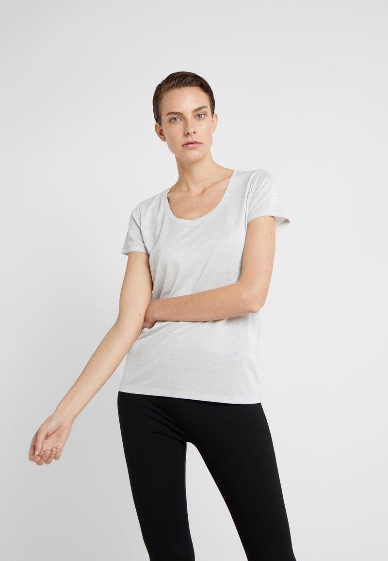 HUGO - DENOLE - T-Shirt print - natural