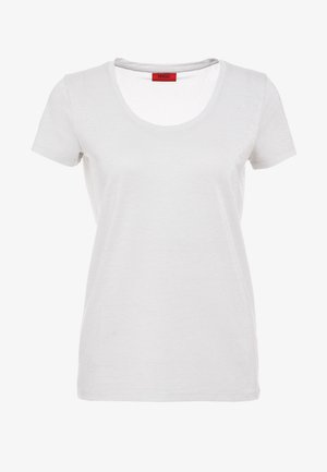 DENOLE - Basic T-shirt - natural