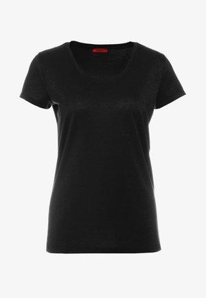 DENOLE - Basic T-shirt - black