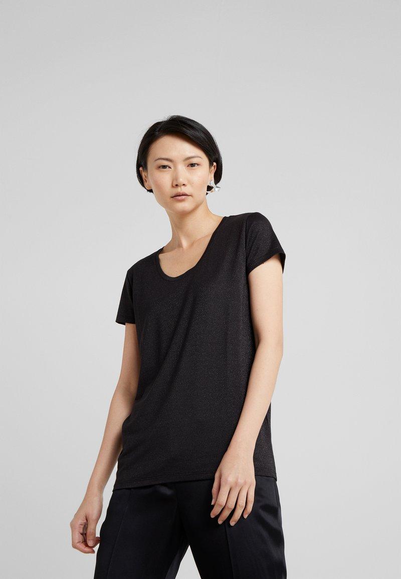 HUGO - DENOLE - T-shirt print - black