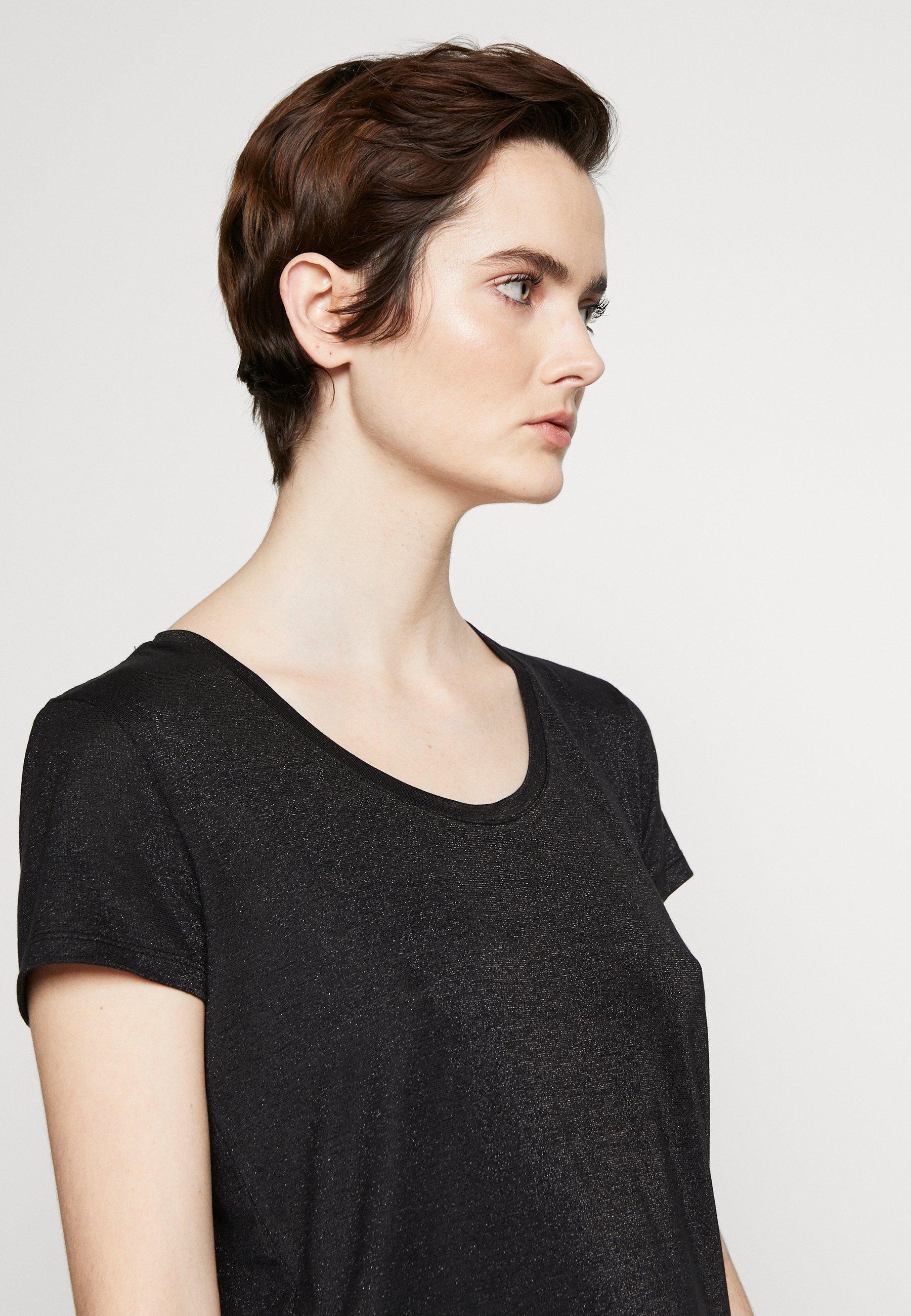 HUGO DENOLE - T-shirt basic - black