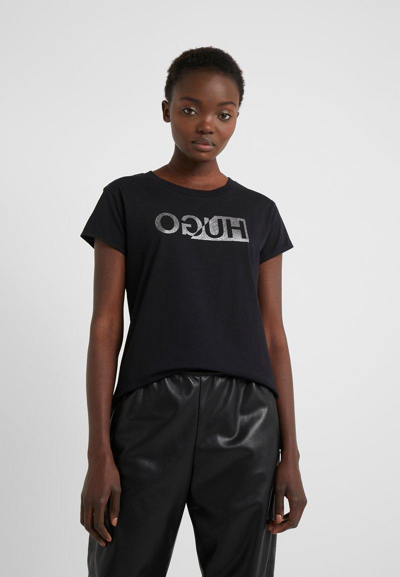 HUGO - DIJALA - T-shirt print - black