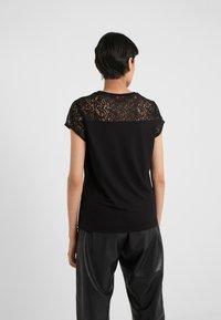 HUGO - DUNYA - Print T-shirt - black - 2