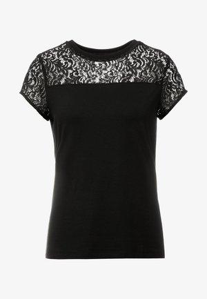 DUNYA - T-shirt print - black