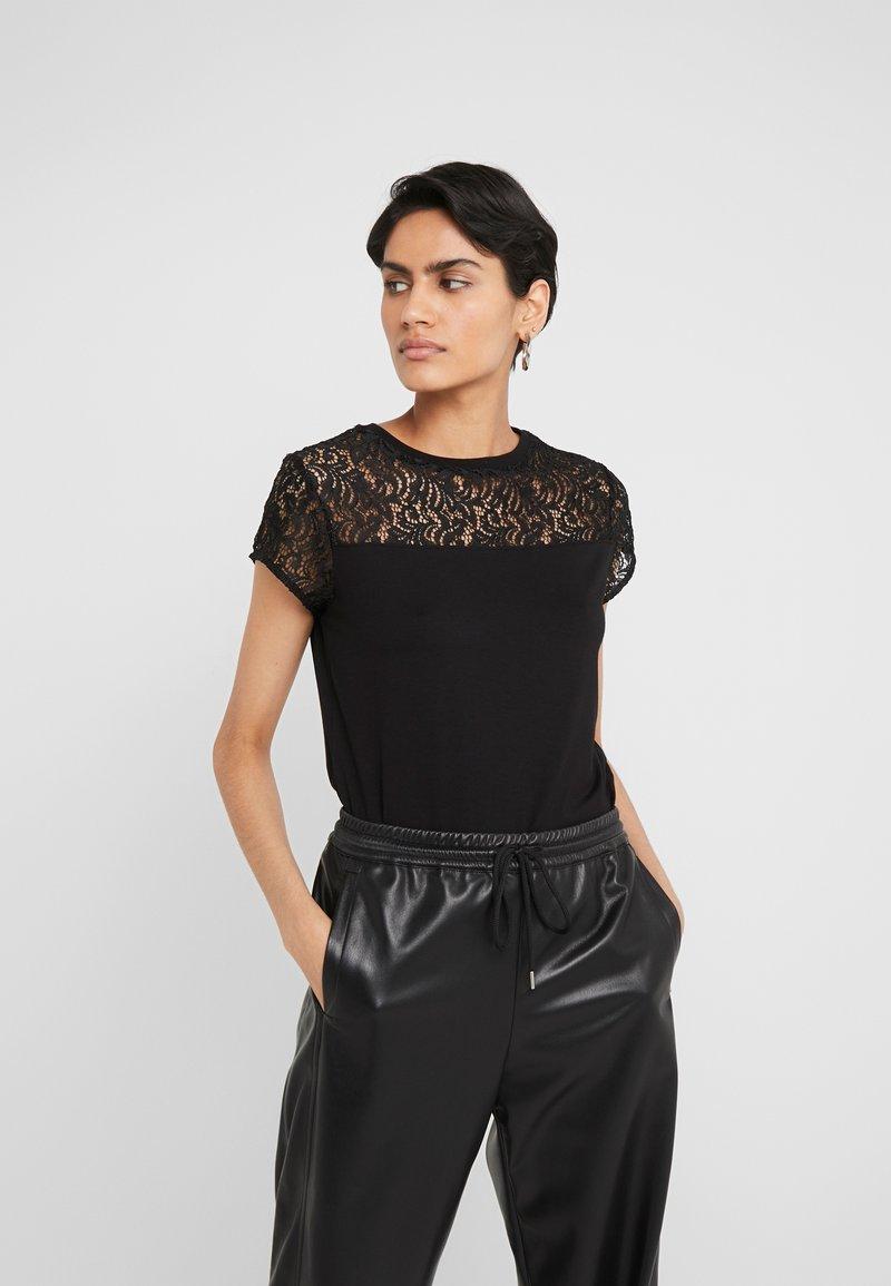 HUGO - DUNYA - Print T-shirt - black
