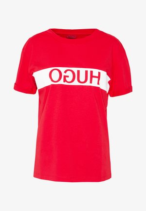 DATINA - T-shirt print - open pink
