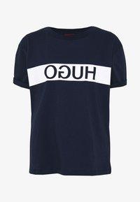 HUGO - DATINA - Camiseta estampada - open blue - 3