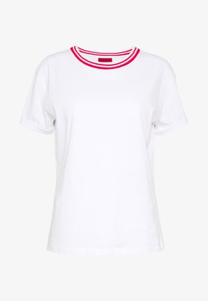 DATINA - Camiseta estampada - white