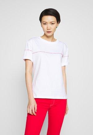 DATINA - Print T-shirt - white