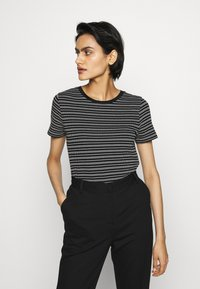 HUGO - DALITAS - Print T-shirt - black - 0