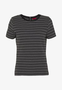 HUGO - DALITAS - Print T-shirt - black - 4