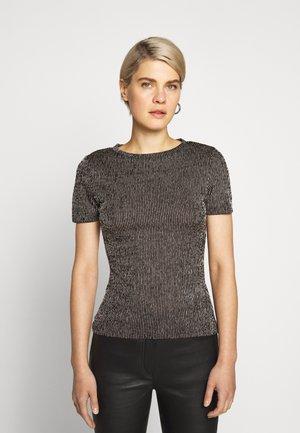 DINOA - Print T-shirt - black