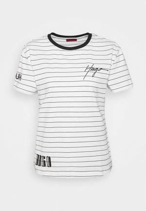 DORINITA - Print T-shirt - white