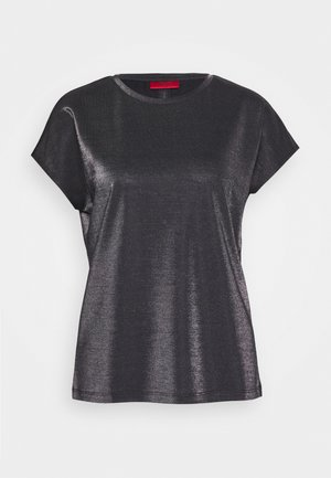 DIJALLA - Basic T-shirt - black