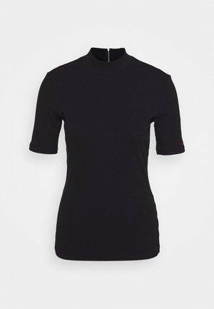 DINANE - Basic T-shirt - black