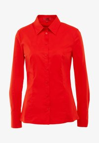 HUGO - ETRIXE - Button-down blouse - medium red - 4